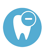 icon tooth extraction