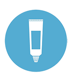 icon of toothpaste